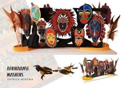 Afrikaanse Maskers - Patrick Wekema
