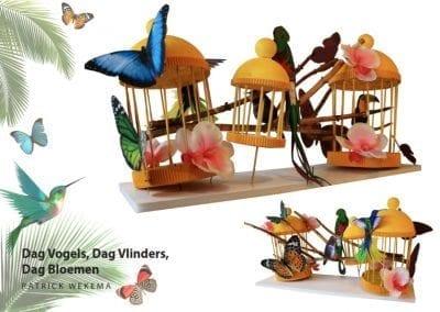 Dag vogels, dag vlinders..- Patrick Wekema