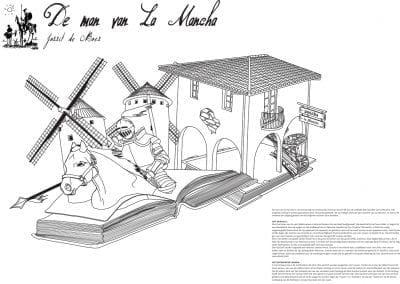 De man van La Mancha - Jorrit de Boer