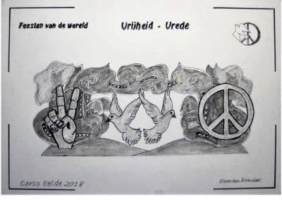 Vrijheid - Vrede - Homan Bonder