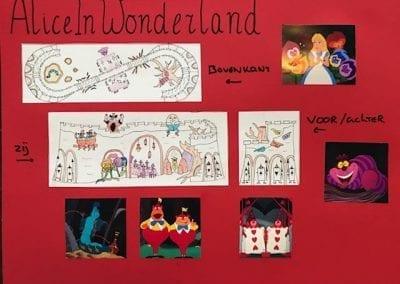 Eekhoornstraat - Alice In Wonderland